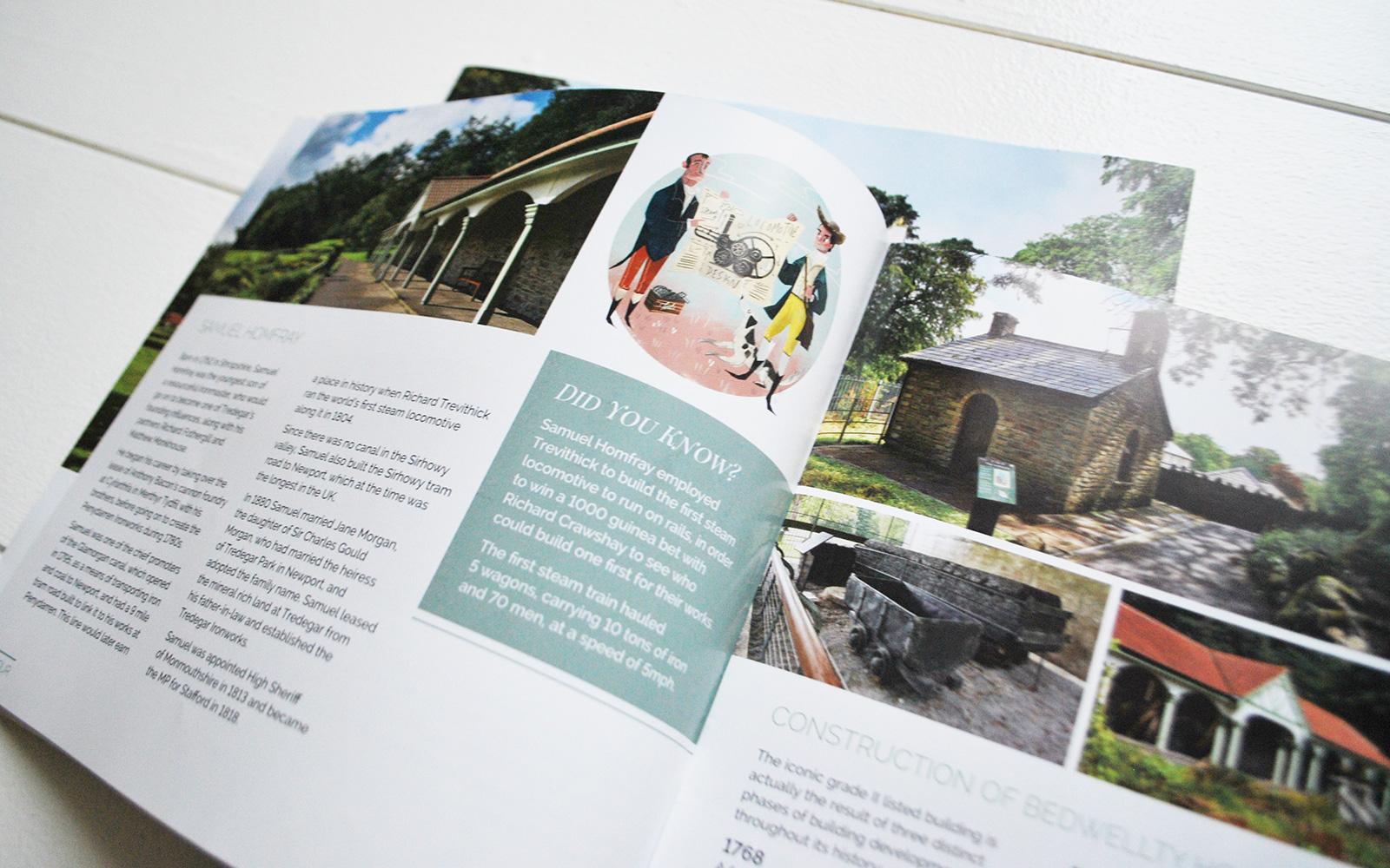 Bedwellty House Brochure Design