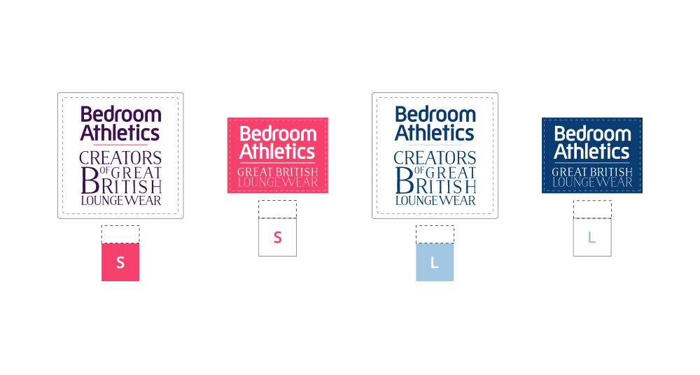Bedroom Athletics Sew-In Lable Design