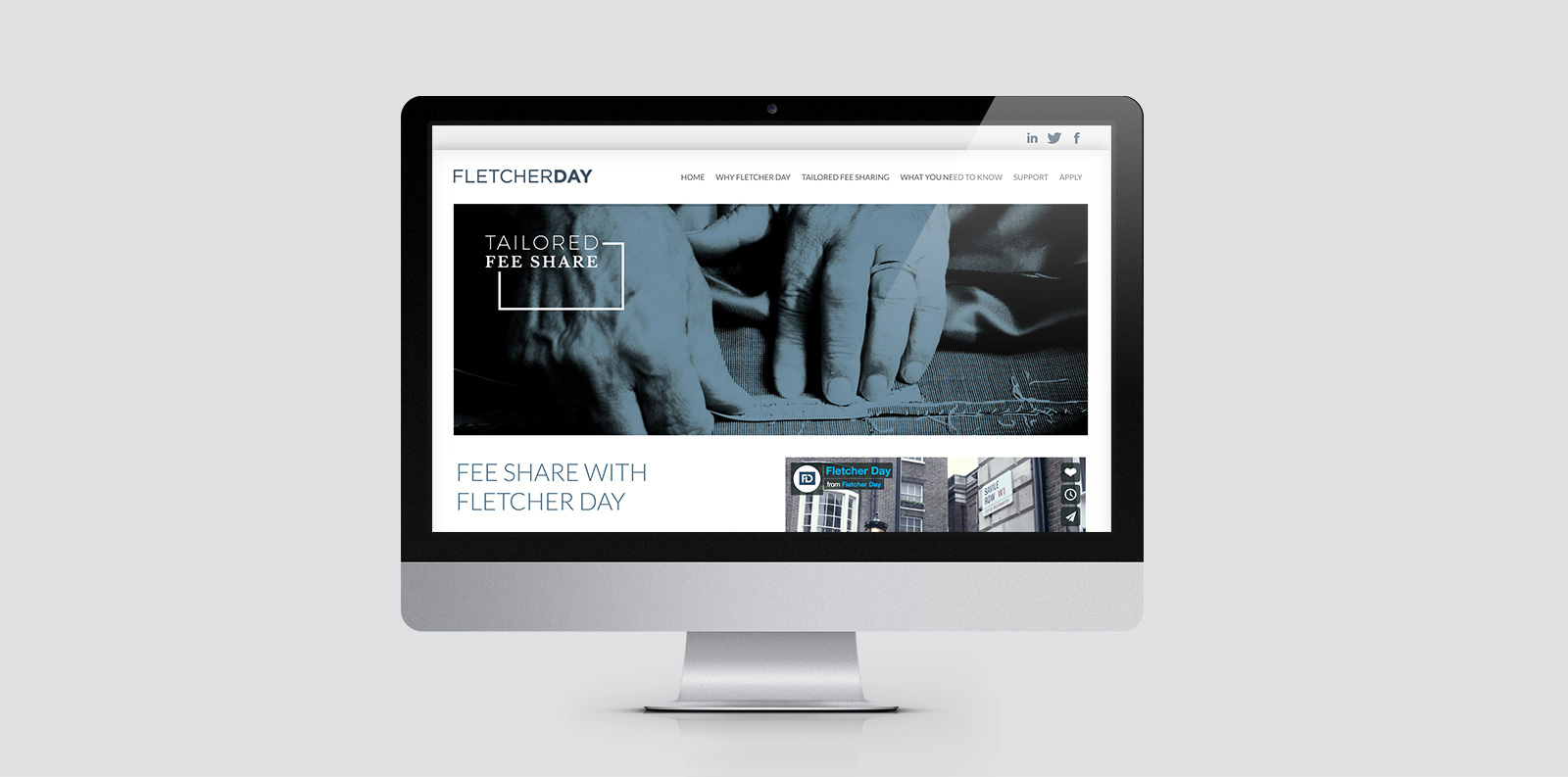 Fletcher Day Website Design
