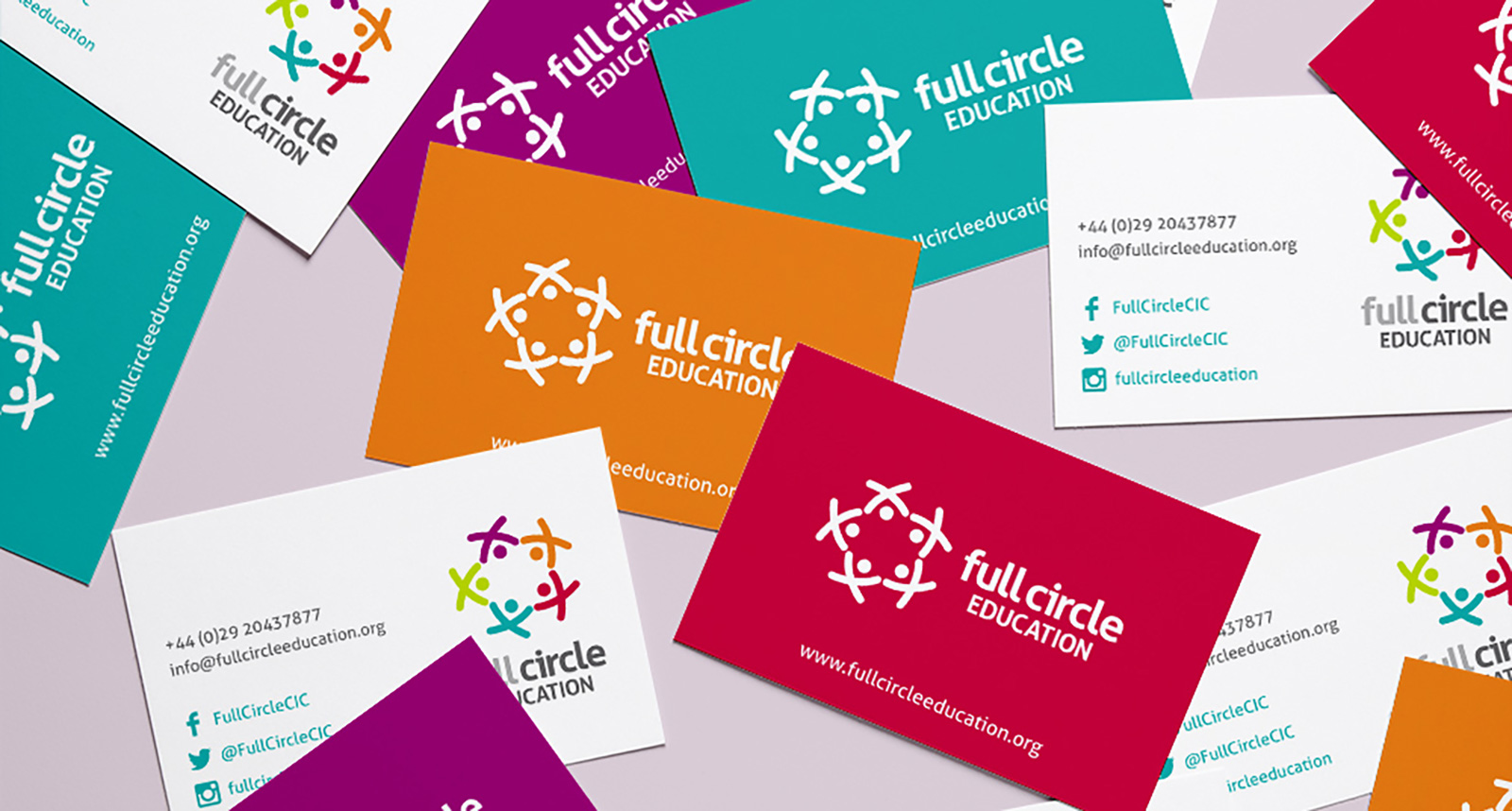 Full Circle Branding and Business Card Design