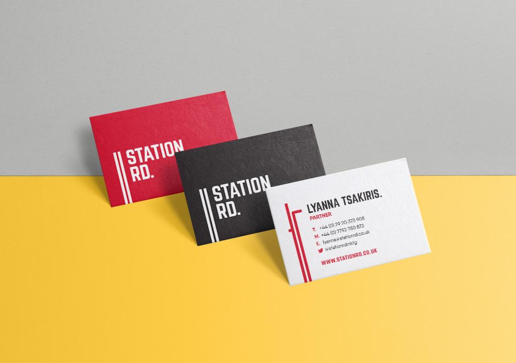 Station Rd Marketing - Brand Design