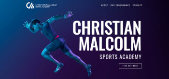 Christian Malcolm Sports Academy | Website Design | Dirty Little Serifs